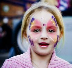 Pin for Later: 45 Boredom Busters For Toddlers Play Dress-Up With Face Paint
