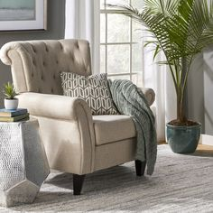 "Annette 20"" Armchair & Reviews"