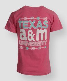 Texas A&M University T-shirt #aggieGifts #AggieStyle