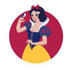 Snow White #snowwhiteanniversary #disney #disneyprincess #disneysnowwhite #fanart #snowwhite #speeddrawing #dailydrawing #disneyfanart #fairytale #drawing #illustration #illustragram #artistsoninstagram #princess