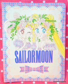 File Binder, Naoko Takeuchi, Sailor Moon Manga, Manga Pages, Shoujo, Comics, Stationery, Japanese, Anime
