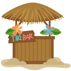 Tiki Bar: Miss Kate Cuttables Tiki Party, Luau Party, Hawaian Party, Summer Clipart, Hamster, Cute Clipart, Paper Crafts, Diy Crafts, Tropical Party