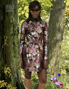 'Wonderland' in Valentino Fall 2014 for Vogue Netherlands September 2014 by Ruud van Empel