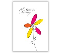 Blumengruß Klappkarte zum Muttertag - http://www.1agrusskarten.de/shop/blumengrus-klappkarte-zum-muttertag/    00012_0_589, Blumen, Glückwunschkarten, Grußkarte, Helga Bühler, Klappkarte, Mami, Mutter, Muttertags Karten00012_0_589, Blumen, Glückwunschkarten, Grußkarte, Helga Bühler, Klappkarte, Mami, Mutter, Muttertags Karten