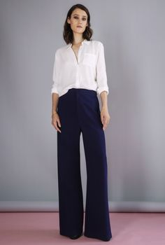 PANT SINI MIDNIGHT BLUE | More colors + | Rodebjer
