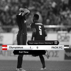 #OLYPAOK 1-0 #SuperLeague