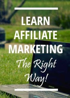 Want to build a serious home business from scratch or make money from your existing blog. Affiliate marketing would be just the ticket if you learn how get started the right way. Check it out. Create passive income for yourself with this technique