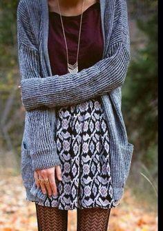 Cozy Autumn fashion!