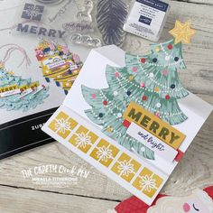 Love Santa Tag Kit and a Fairytale of New York Yellow Taxi Card By Mikaela Titheridge, The Crafty oINK Pen. UK Independent Stampin' Up! Demonstrator. Buy your Stampin' Up! Products through my online store and use my Shopping Code at checkout for a Free Gift from me and a FREE Download of the All Star Tutorial Bundle. More info on my blog. Some Nights, Wink Of Stella, Coach Me, Chalk Markers, Easel Cards, White Chalk, Quick Cards, Inspire Others, Taxi