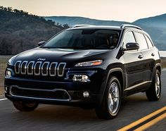 2014 Jeep Cherokee...glad to see they brought the cherokee back!!