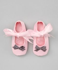 Take a look at this Pink & Black Frenchie Mary Jane by Truffles Ruffles on #zulily today!