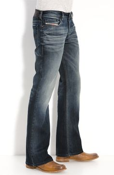 DIESEL® 'Zathan' Bootcut Jeans (885K) | Nordstrom