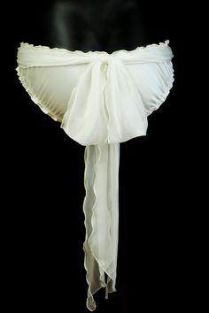 Silk Ruffle Bow Knickers