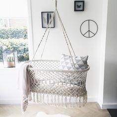 Hanging cradle - rock that label