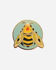 The Holy Honey Bee Talisman pin from @disalvatron ✨ HONOR THY BEE! This Talisman was Crafted To Endow The Wearer with The Spirit Of the Holy Honey Bee… Buy it through their link in bio! http://ift.tt/2mmNb7B