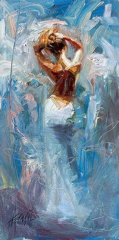 Pintor estadounidense nacido en 1971 en Los Ángeles.   Henry Asencio combina en su obra el drama figurativo con fondos abstractos... // American painter born in 1971 in Los Angeles. Henry Asencio combines figurative drama with abstract backgrounds in his work ...