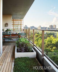 Small Balcony Garden | House & Home