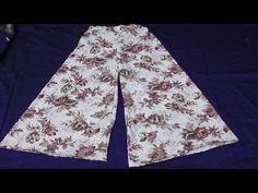 Palazzo Jumpsuit, Palazzo Pants, Plajo Suit, Printed Kurti Designs, Divided Skirt, Capri Trousers, Casual Jumpsuit, Pants Pattern, Baby Design