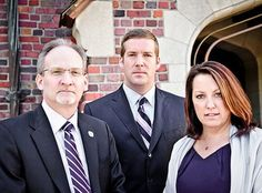 Colin Amann, James Hedelsten and Julie Ketterman of KHA Lawyers in Houston