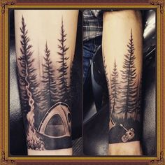 Image result for black and white rocky mountain tattoo