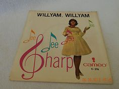 """DEE DEE SHARP:  """"WILLYAM, WILLYAM""""  &  """"WHERE DID I GO WRONG""""!  7""""-45 RPM RECORD SLEEVE ONLY!  PREVIOUSLY OWNED! GREAT ITEM FOR YOUR RECORD COLLECTION, ESPECIALLY IF YOUR ARE MISSING THIS PARTICULAR COVER! A FANTASTIC ARTWORK ITEM FOR YOUR NEXT """"MAN-CAVE"""", OR GRILL & BAR, ARTWORK PIECE!"""
