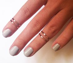 Above the Knuckle Rings
