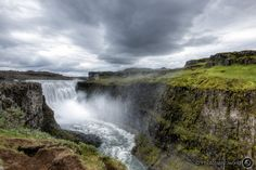 Dettifoss - the most powerful waterfall in Europe.