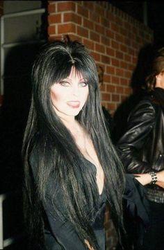 duchess-of-filth - Posts tagged cassandra peterson Cassandra Peterson, Goth Beauty, Dark Beauty, Classic Beauty, Elvira Makeup, Elvira Movies, Beautiful Celebrities, Beautiful Women, Amazing Women