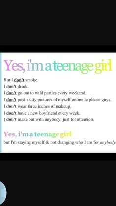 I mean really why does everyone think this is all we do! im kinda sick of it, ju… I mean really why does everyone think this is all we do! im kinda sick of it, just because we are pretty and a teenager doesnt mean we do any of this stuff! Teenager Quotes, Teen Quotes, Cute Quotes, Funny Quotes, Teenager Girl, Pretty Girl Quotes, Teenage Love Quotes, The Words, Def Not