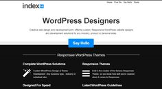 Responsive (wordpress) design: http://index56.com