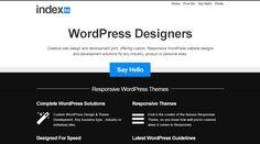 Responsive (wordpress) design: http://index56.com
