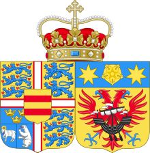 Coat of arms for Crown Princess Mary of Denmark