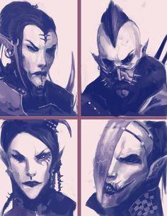 Dark Eldar: We are Pain 3 by Beckjann on deviantART
