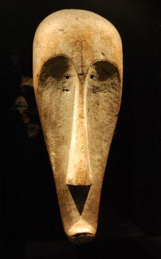 Máscara fang ngil. Museo Etnológico de Berlín