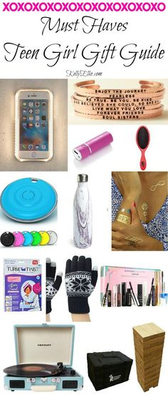 Teenage Girl Gifts - great gift guide! kellyelko.com