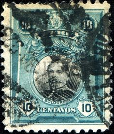 Peru Stamp 1918 - Francisco Bolegnesi Cervantes,military