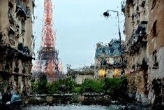 Christophe Jacrot (French, b. Paris, France) - Brouillée 2 (Eiffel Tower) from Paris In The Rain series, 2014 Photography Rainy Day Photography, Rain Photography, Creative Photography, Photography Gallery, Amazing Photography, Photography Ideas, Travel Photography, French Photographers, Street Photographers