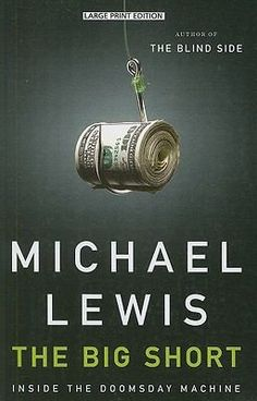 The Big Short by Michael Lewis was released as a movie 12/11/2015. From the author of The Blind Side and Moneyball. The Big Short tells the story of four outsiders in the world of high-finance who predict the credit and housing bubble collapse before anyone else. The film adaptation by Adam McKay (Anchorman I and II, The Other Guys) features Academy Award® winners Christian Bale, Brad Pitt, Melissa Leo and Marisa Tomei. Book available for checkout at the Logan Library.