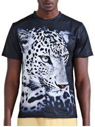 SHARE & Get it FREE | Round Neck Stylish 3D White Leopard Print Short Sleeve Men's T-ShirtFor Fashion Lovers only:80,000+ Items • New Arrivals Daily • Affordable Casual to Chic for Every Occasion Join Sammydress: Get YOUR $50 NOW!