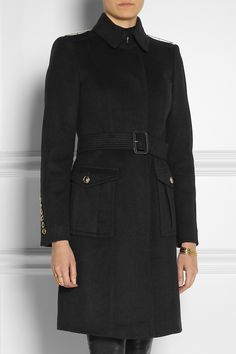 Burberry London|Wool and cashmere-blend coat|NET-A-PORTER.COM