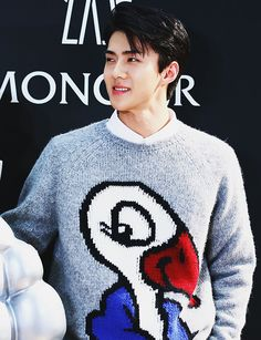 into your world — oh sehun at moncler flagship store event in hong...