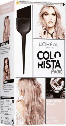 Für neu definierte Reflexe und einen permanenten individuellen Look: L'Oréal Colorista Hairpaint Roseblonde bietet hochkonzentrierte Farbpigmente in einer...