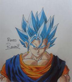 Draw Vegetto SSJ Blue (Dragon Ball Super)