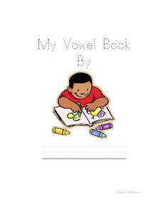 Classroom Freebies: My Vowel Booklet