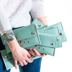 The perfect clutch for the Holidays and beyond - the Blast. Treat yourself or gift it to someone you love - enjoy 25% off on orders if $175 or more at Stitch and online. Ends Saturday 10/11. Use code 25OFF #hollyaikenbags #shopsmalldtraleigh...