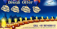 Best #Diwali #Offer!! #FlightBooking, #HotelBooking, #HolidayPackages, #CustomTour Email: travels.aakash@gmail.com Website: www.akashtravels.co.in +91 9874930112 / (033) 22684045 / 40732539 Best Hotel Deals, Best Hotels, Caramel Apples, Diwali, Website