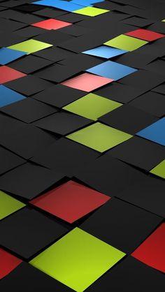 Tiles 3d #iPhone #5s #Wallpaper |