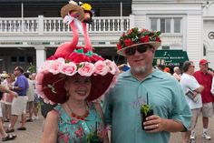 What's that on Your Head? Photos of the Weirdest Hats at the Kentucky Derby