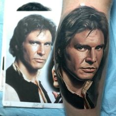 #Cropic Amazing Harrison Ford tattoo by Nikko Hurtado! #harrisonford #nikkohurtado #colortattoos #calilife #realistic #realism #portrait #portraittattoos #photorealism #colorportraits #tattoo #tattoos #tattooing #hesperia #calilife #blackanchorcollective #colorrealism #sullen #sullenclothing #california #hollywood #celebrity #laink #highvoltagetattoo #katvond