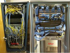 great job with this network rack cleanup.